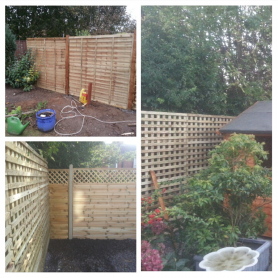 Trellis Panel Fencing Suffolk