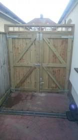 Garden gates, Ipswich, Suffolk