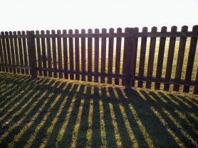 Norfolk fencing pickets