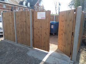 Panel fencing Suffolk