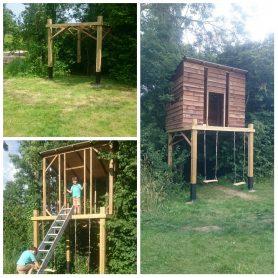 Tree houses and bespoke sheds