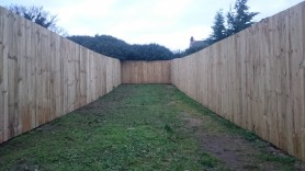 close board fence, Hardman & Oakley Fencing