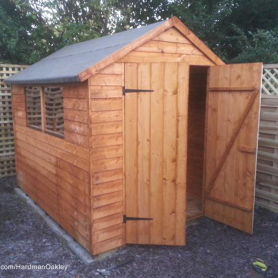 new Shed building Suffolk